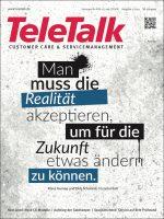Grafik: Cover der Zeitschrift Teletalk 02/21